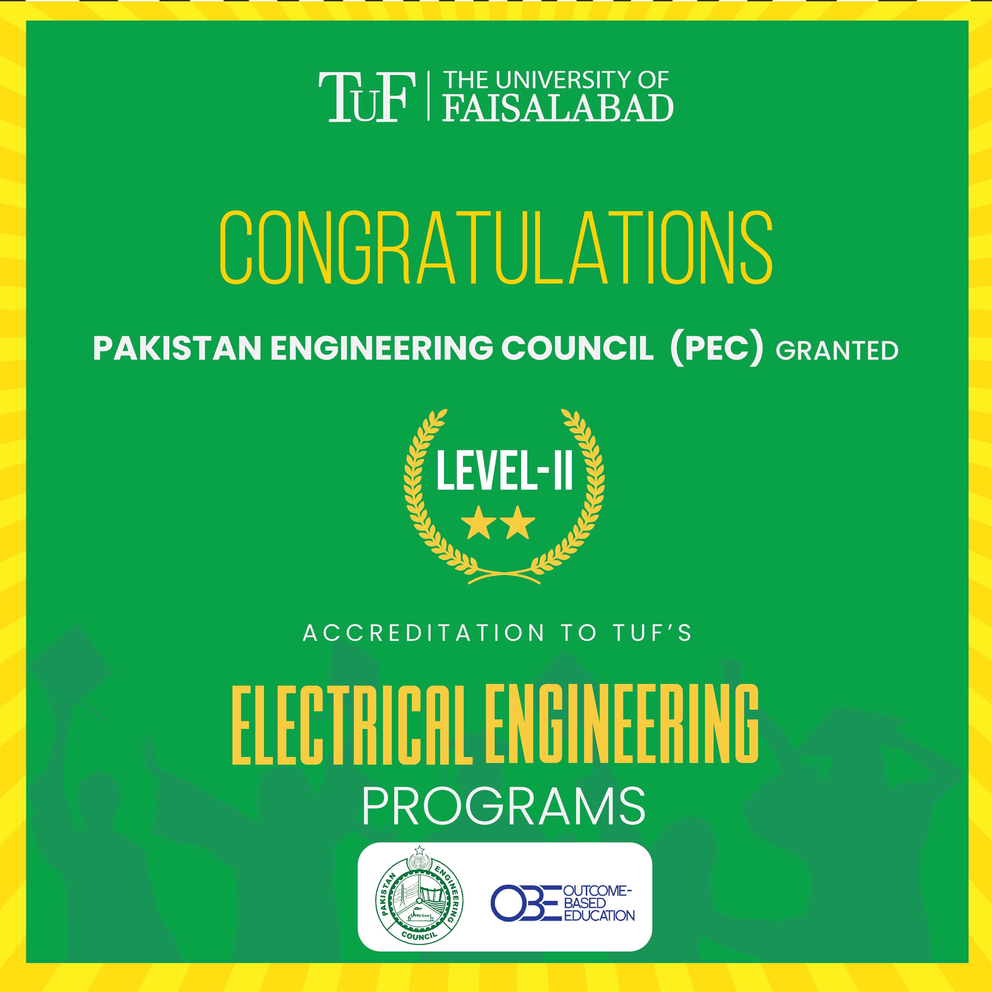 Accreditation of TUF's Electrical Engineering